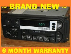 New Oem 2002 2006 Jeep Grand Cherokee Infinity Cassette Radio Stereo Cd Control