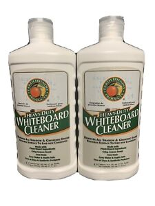 2 Earth Friendly Products Heavy Duty Whiteboard Cleaner 17 Oz New Lot