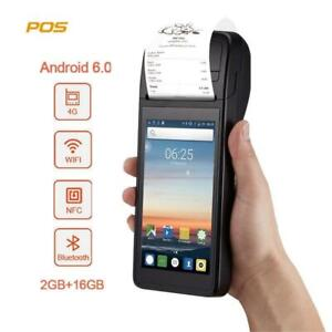 Pos Themal Receipt Printer Android Bluetooth Wifi 3g 1w Camera Mobile Payment