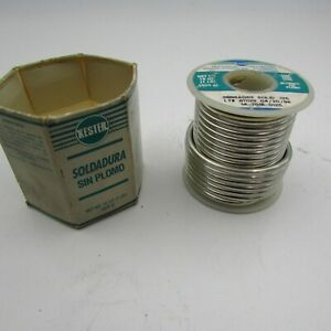 Kester Lead Free Solder Solid 125 14 7016 0125 98 Tin 2 Silver 1 Pound