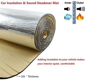 Sound Deadener Material Car Heat Shield Insulation Noise Reduce 24 X 39 X 3 8