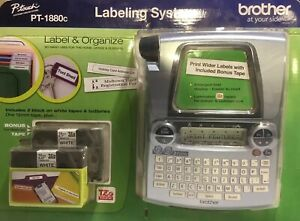 New 558526 Brother P touch Pt 1880c Label Organize Labeling System Sealed