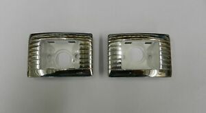 1965 Buick Skylark Gs Convertible Rear Armrest Courtesy Light Bezels Mc02 2
