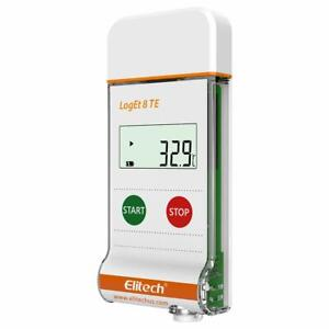 Elitech Loget 8 Te Temperature Data Logger Reusable Pdf Report Usb Portthe Tempe