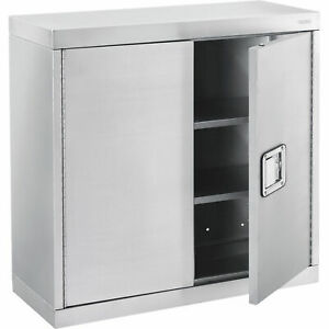 Wall Cabinet Stainless Steel 430 30 w X 12 d X 30 h
