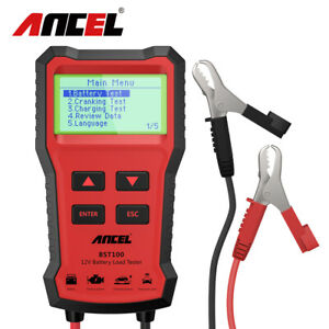 Automotive 12v Car Battery Load Tester Battery Cranking Charging Analyzer Tool