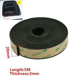 Universal 0 78 Inch Car Window Seal Rubber Sunroof Weather Strip Trim 16 4 Ft 1x