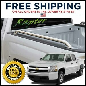 5 8ft Bed Stainless 1 9in Side Rails For 2004 2007 Silverado Sierra 1500 Classic