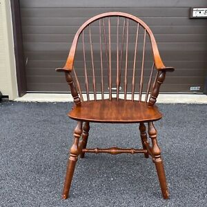 Vintage Vermont Made Hale Prosper S Windsor Armchair Spindle Chair