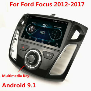 For 2012 17 Ford Focus 9 Android 9 1 Car Stereo Head Unit Radio Gps Wifi 1 16g