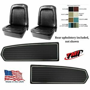 Upholstery Door Panel Set 1968 Mustang Coupe Seat Cover Tmi Any Color