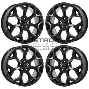 19 Chrysler 300 Awd Gloss Black Exchange Wheels Rims Factory Oem 2537 2014 2019
