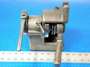 Hardinge Hv 0 5c Collet Indexer Rotary Spin Indexing Fixture Vertical Horizontal