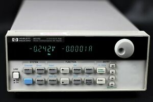 Agilent Hp 66311d Mobile Communication Dc Source Power Supply 15v 0 3a