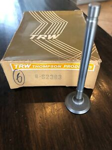 Engine Exhaust Valves Trw S2383 For Ford Mercury 1965 76 390 360 410 427 Qty 6