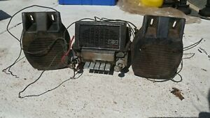 Vintage 1960s Mercury Car Am Radio Ford Co With Speakers