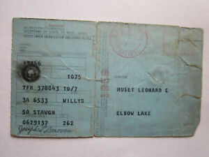 1950 Willys Station Wagon Barn Find Historical Document