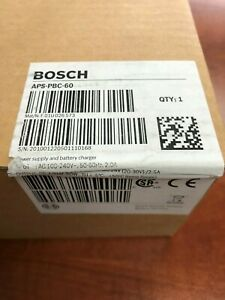 Bosch Security Systems Aps pbc 60 Power Supply And Battery Charger New In Box