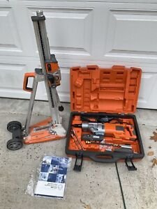 Excellent Husqvarna Dm 220 Core Drill With Ds 250 Stand