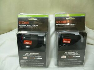 One Curt Discovery Brake Controller P N 51120 New Sealed Two Available