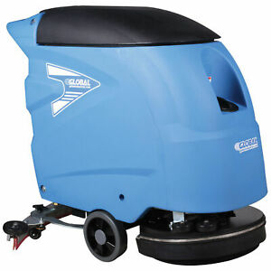 Auto Floor Scrubber 18 Cleaning Path
