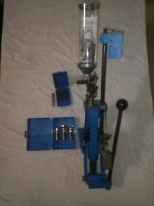 Dillon 550 press excellent condition complete setup for 45 ACP. With dies.