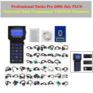 Tacho Pro 2008 July Plus Universal Auto Dash Programmer Unlock Odometer Devices