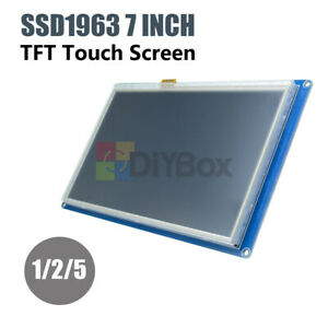 1 5pcs 7 Tft Lcd Touch Screen Module 800x480 Pwm Ssd1963 Controller For Arduino