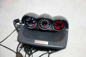 Jdm Subaru Impreza Wrx Sti Zero Sports Defi Gauge Oil Temp Press Turbo Boost Gdb