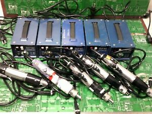 Hios Torque Limiting Power Driver Clt 50 Power Supply Lot Of 5