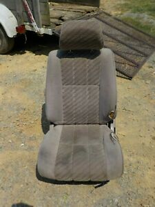 90 95 Toyota 4runner Complete Driver Left Front Tan Bucket Seat W Defects Oem