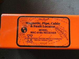 Schonstedt Mac 51bx Cable Pipe Locator Utility Underground Line Tracer