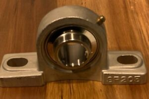 1 Shaft Bore Stainless Pillow Block Bearing Sucsp205 16 New In Box