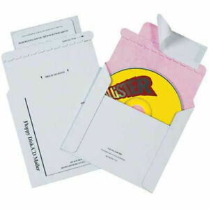 5 1 8 x5 Tyvek Lined Cd Mailers 100 Pack