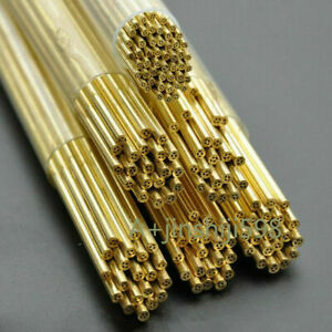 50pc Edm Wire Drilling Machine Brass Electrode Tube Multi hole 1 0 3 0 400mm