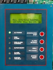 Notifier Afp 200 Fire Alarm Control Panel Replacement Board Fully Functional