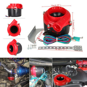 1set Car Dump Electronic Turbo Blow Off Hooter Valve Analog Sound Simulator Rs