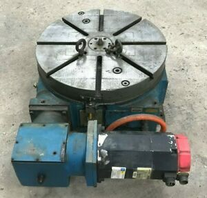 Cnc Rotary Table 4th Axis 24 Diameter Producto Machine Co