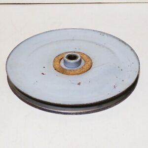 9 3 8 Friction Clutch Pulley For 12mm V belt From Old Laundry Machine 15mm Bore