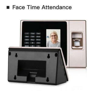 Intelligent Biometric Face Fingerprint Password Attendance Reader Access Control