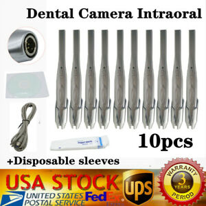 10pc 2020 New Intraoral Oral Dental Camera Usb x Pro Imaging Systm Md740 Us Sihp