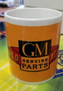 Brand New Vintage Style Authorized Gm Accessories 11oz Coffee Mug Chevy Bombs