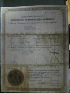 1927 Chevrolet Coach Barn Find Historical Document