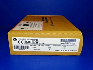 2018 Factory Sealed Allen Bradley 1747 l542 Series D Slc 5 04 Processor Slc 500