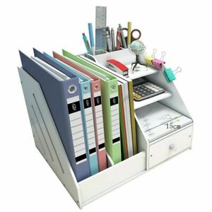 Document Tray File Holder Diy Office School Supplies Desk Accessories Stationery