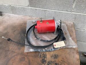 Western Snow Plow Parts Lot Pump Motor And Cables