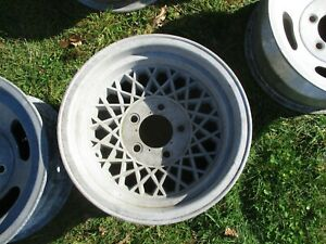 14 X 8 Wire Style Mag Wheel Old School Vintage 5 X 4 75 Appliance Chevy Ri 28