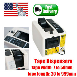 Electric Automatic Tape Dispensers Adhesive Cutter Cuttinf Packaging Machine 18w