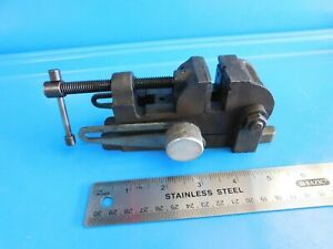 Used vintage 1 1 2 In Tilting Drill Press Vise Stamped Cf15 3 Craftsman