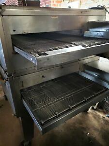 Model 3255 Lincoln Commercial Conveyor Pizza Oven 2 Decks